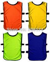 Free shipping, high quality football training vest, soccer training jerseys, sports training kits, soccer shirts scrimmaging