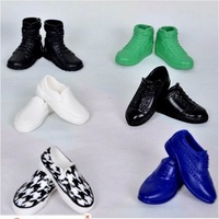Free Shipping,New Arrival 2013 6pairs Fashion Shoes For Barbie Boyfriend Ken