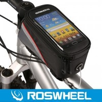 Waterproof Cycling Bike Bicycle Frame Front Tube Bag For Cell Phone,4.2 inch,New design bag