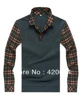 Free Shipping, Hot T shirt Men Brand, Diamond Supply Plus Size Fashion Long Sleeve Men T-shirts, Fitness Men B3823, M-XXXL