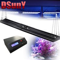 DSunY high-end 48inch led aquarium lighting marine, 2 light fixtures