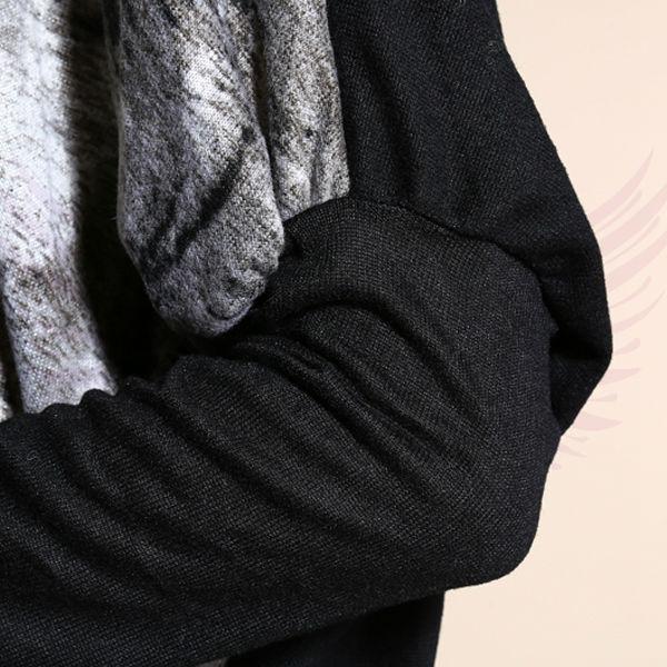 Punk Sweater Dress Sweater Dress Batwing Long