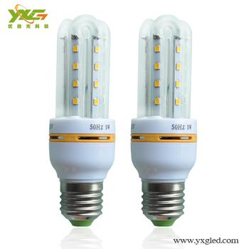 hot sell e27 led corn lamp for the garden 220v 5w 900-1000lm warm white cool white 85-265v