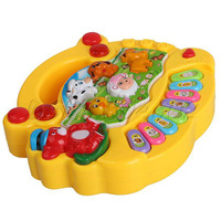 Funny Popular Baby Kid Animal Farm Piano Music Developmental Toy Great gift