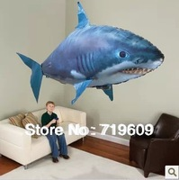 RC Remote Control Air Flying Fish Shark/ Clownfish Inflatable Toy Swimming Fish Swimmers In The Air