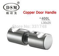DSM Bathroom Copper Door Handle Small Glass Door Pull For shower room PA-400L