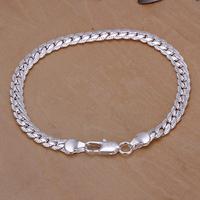 Free shipping wholesale 925 silver bracelet, 925 sterling silver jewelry, fashion jewelry 5M Bracelet H199