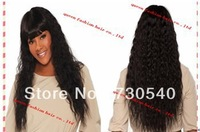 "Machine made u part wig Top fashion wave10""-24""  Virgin Malaysian human hair  wholesale price available in stock  freeshipping"