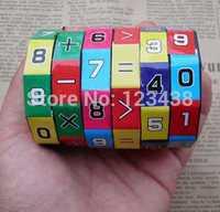 Plastic Kids Child Digital Cube Puzzle Educational Toys Math  Arithmetic Toy , Average Quality Brinquedos