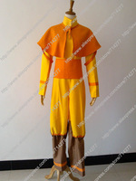 Free shipping Custom Cheap Aang Cosplay Costume from Avatar the Last Airbender