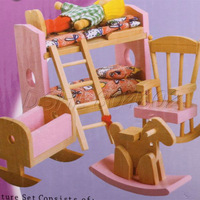 New Dollhouse Funiture Wooden Educational Toy For Child/Kids/Baby