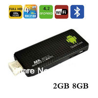 MINI PC TV Stick MK809III Android 4.2.2 Quad core Cortex A9 2GB RAM 8GB ROM RK3188 Google TV Box Wifi TV Player HDMI Bluetooth
