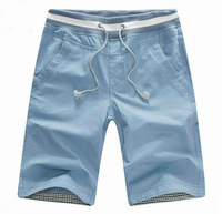 2014 Free Shipping 7 Colors beach shorts men's top quality sport New summer casual pant for men Fashion cotton trousers M--2XL