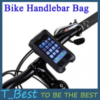 Waterproof Cycling Bicycle Bike Protective Handlebar Bag Pouch for iPhone HTC Mobile Phone,Free Shipping+Drop Shipping