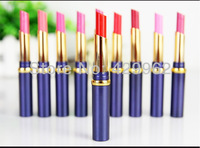 Big brand name lipstick lip romantic fashion pure & bright & naked  red colour rouge good quality makeup 12pcs/lot