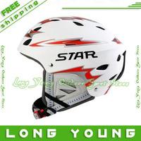Hot sale fashion skiing helmet  CHAMPION Ski Helmet with 3 colors,free ship for gopro 3 2 hero 3+