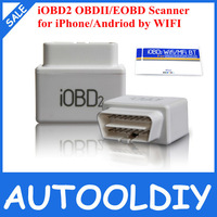 2014 Hot Sale OBD2/EOBD Diagnostic Tool iOBD2 for iPhone & Andriod by WIFI Support Multi-Language with best price Free Shipping