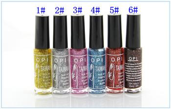 Nail Art Liner Pen Nail Striping Polish 12 Pcs Mix Colors 10ml Nail Striping