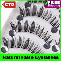 New 10 Pair A104 Black Color Thick Long False Upper Eyelashes Eyelash Eye Lashes Handmade Natural False Eyelashes