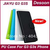 Free shipping Jiayu G3 G3s PU Leather Case Phone book Case For Jiayu G3 G3s JY g3  Low Price