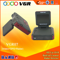 car black box GPS+VEDIO+RADAR 3 in 1 GPS and radar Combo