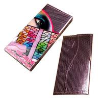 Luxury 100color Eye Shadow Kits Rose Makeup Eyeshadow Palette Set with Purple Foil Bag