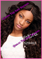 "Grade AAAAA Brazilian Virgin hair body wave full lace wigs glueless with baby hair 12-26""in stock Free shipping"