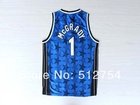 Orlando #1 Tracy McGrady Jersey Rev 30 Throwback Basketball Jersey Stitched Logo Embroidery Cheap Authentic Sport Jersey