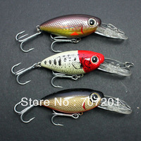 30Pcs YAYIDA YX02B Fishing Swim Baits Lures 55mm 9g 1.5-2.5m ,Free Shipping!