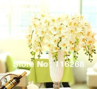 Single branch butterfly orchid High-end simulation butterfly orchid Fake  decoration flower field blasting Paragraph burglary