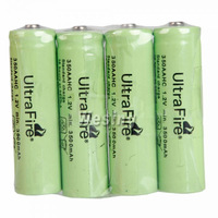 4Pcs/Set UltraFire AA Rechargeable Battery 1.2V 3500mAh Rechargeable Ni-MH Battery for free shipping