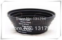 7 Metal Step Up Rings Lens Adapter Filter Set 49-52-55-58-62-67-72-77 mm for Canon Nikon Samsung Pentax Fujifilm