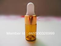10pcs 3ml Amber Glass Dropper Bottles/Vials Storing Dispay Sample Bottles Oil Bottles