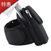 HOT SALE Outdoor Running mobile arm sleeve arm bag wrist bag mobile phone arm bag armband FERR SHIPING SIZE M