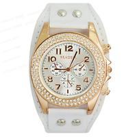 READEEL Luxury  Women quartz wrist watch Ladies Women's Gilrs Dress Analog Gifts Quartz Hour Clock Wrist Watches Free Shipping