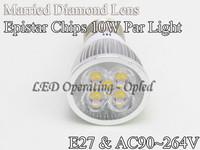 Free shipping Wholesales price led spot light - E27 par bulb lamp 10w Warm White/Cool White/Pure White CE&ROHS