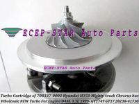 Turbo Cartridge CHRA GT17 28230-41730 708337-0002 708337 Turbocharger For HYUNDAI H350 Mighty truck Chrorus bus 1999- D4AL 3.3L