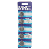 2014 New Arrival Freeshipping Standard Battery 5pcs New 3v Cr2032 Cr 2032 Dl2032 Lithium Button Cell Coin Battery