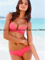 Drop ship Free Shipping swimwear fashion ruffle bikini women's bathing suits tankini swimsuits