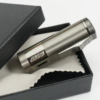 JOBON Pen Style 3 Top Torch Flame Cigar Cigarette Lighter