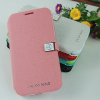 1Piece New Cartoon Magic Girl Leather Case for Huawei Ascend W1 & Screen Protector, Free Shipping (HW104)