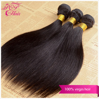 Ali POP hair products cheap Peruvian straight  hair remy straight weaving hair 12''-28''  3pcs/lot  mixed length free shipping