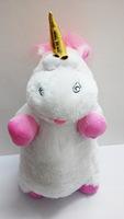 "Despicable Me ""It's So Fluffy"" Agnus the Unicorn 26"" Plush Pillow Doll dolls stuffed toys"