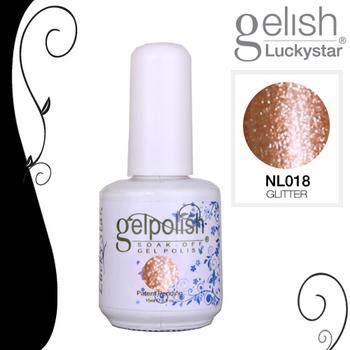 12Pcs/lot LUCKYSTAR Soak Off Gel polish 15ml Nail Art Nail Gel UV/ LED Nail Gel Polsih