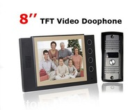 "2013 NEW  video door phone with  8"" TFT screen  +FREE SHIPPING, THE BEST PRICE  !!!"