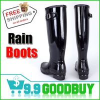 good quality A rainboots for hiking camping and climbing Fashion Rain Boots Glossy Matte Waterproof Boots free shipping