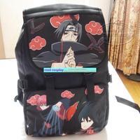 Akatsuki Uchiha Itachi Sasuke Kakashi skunks school bag naruto backpack