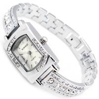 KIMIO Brand,Wholesale Stainless Steel women wristwatches ladies rhinestone fashion Analog quartz watch Women watches,W196A