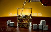 Free shipping! whisky stones150sets (12pcs/set), 1800pcs/lot, whisky rocks whiskey stone, wine accessories