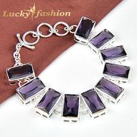 Luckyshine Trendy Candy Color Pulseiras Femininas Precious Handmade Charm Silver Bracelet & Bangle For Women Fashion Jewelry